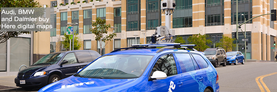 Nokia sells its HERE digital mapping and location services business to AUDI, BMW and Daimler